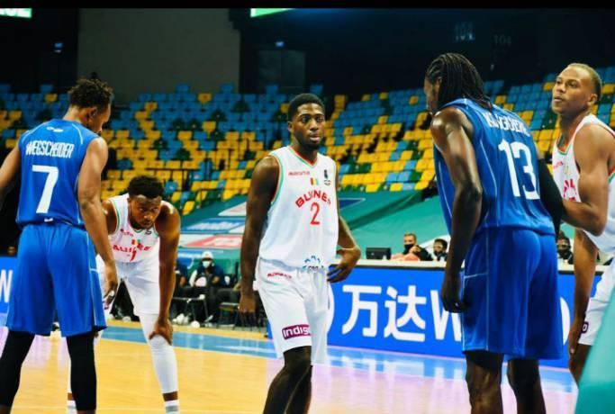 Afrobasket 2021 : la Guinée s'incline sur le fil face à la Centrafrique